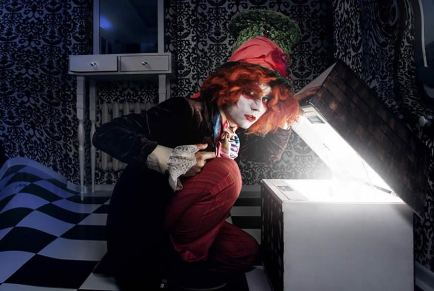 Алиса и чеширский кот квест